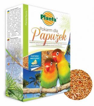 Krmivo pre vtáctvo - PLANTA - pre menšie druhy papagájov - 0,5 kg
