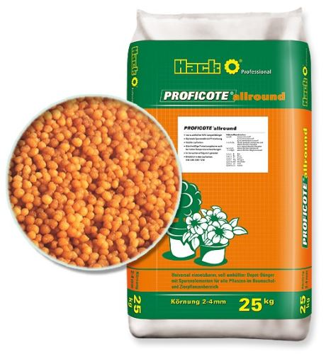 hnojivo hack proficote allround 8m 25 kg