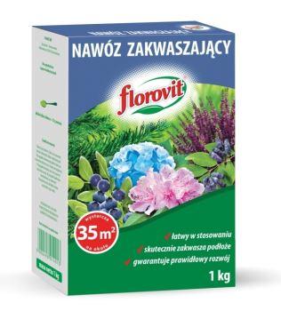 Hnojivo granulov. - FLOROVIT - okyseľujúce hnojivo - 1,0 kg box