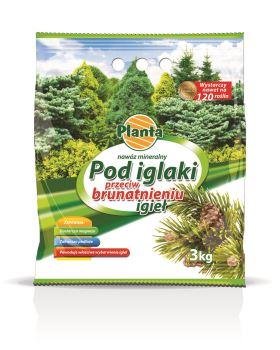 Hnojivo granulov. - PLANTA - ihličnany - proti hnednutiu ihličia - 3,0 kg vrecko