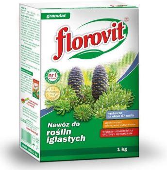 Hnojivo - granulované - FLOROVIT Ihličnany - 1,0 kg box