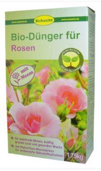 Hnojivo - SCHACHT - prírodné, pre ruže - 1,75 kg