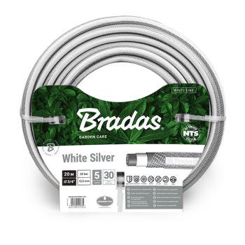 """Hadica záhradná - White Silver - 1/2"""" - 30m - BRADAS"""