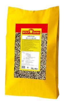 Hnojivo granulov. - WOLF - LX-MU 800 Trávnikové hnojivo dlhodobé PROF. 70 dní - 800 m2