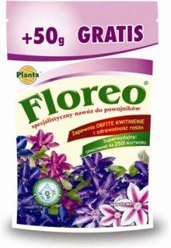 Hnojivo kryštalické - PLANTA - Floreo - Plamienky (Clematis) - 250 g + 50 g ZDARMA