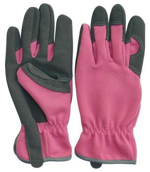 Rukavice pracovné - VERDEMAX - Lady Pink - veľkosť M
