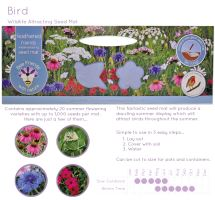 BEES 3m Wildlife seed carpet-Bird-G PLANTS