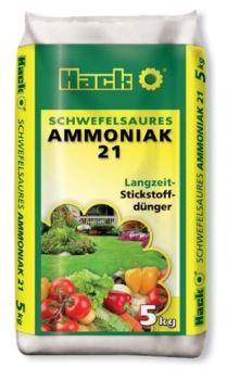 Hnojivo granulov. - HACK - síran amónny 21 % - 5 kg