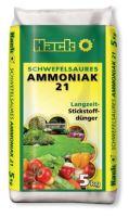Hnojivo - HACK Síran amónny 21 % - 5 kg