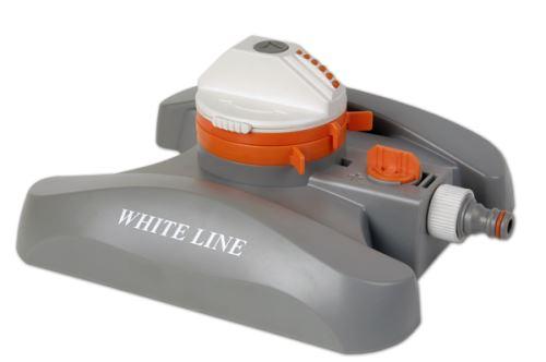 Postrekovač rotačný - WHITE LINE - nastaviteľný 2-funkčný - na základni- BRADAS