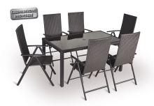Stolová zostava - VALENCIA 6-AL - 6x kreslo, stôl