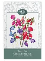 BEES Seeds Packets sweet pea old fashioned-G PLANTS