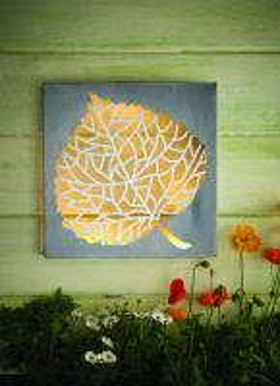 wall art solar light