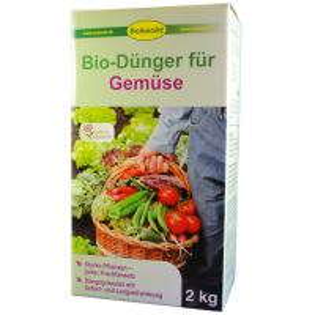 Hnojivo - prírodné - ZELENINA - SCHACHT - Bio-Dunger - 2,0 kg