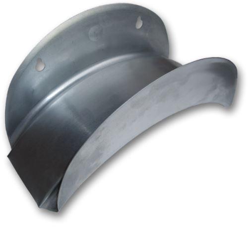Držiak na hadicu - nástenný - kovový