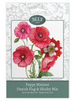 BEES Seeds Packets poppy mix-G PLANTS