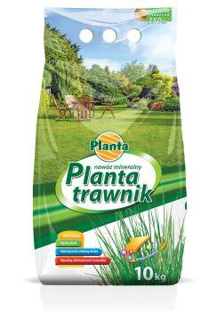 Hnojivo granulov. - PLANTA - trávnik - ekonomické balenie - 10,0 kg