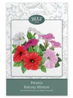 BEES Seeds Packets petunia balcony mix-G PLANTS