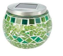 Svietidlo - solárne, na stôl - COLE&BRIGHT Solar Mosaic Table Light-GARDMAN