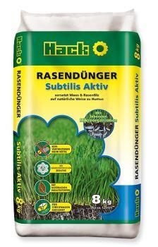 Hnojivo granulov. - HACK - Subtilis Aktiv - 8 kg