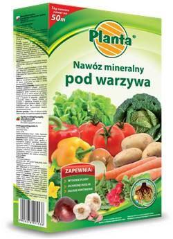 Hnojivo granulov. - PLANTA - zelenina - 1,0 kg