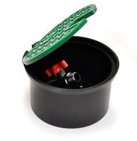 """--- Ventilová šachta PA - s guľovým ventilom 3/4"""" plastový GV s mosadznou guličkou"""
