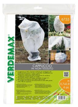 Ochranná textília - VERDEMAX - návlek na rastliny - 17g/m2, biela, 0,7 x 0,8m balenie 6 ks