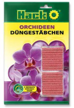 Hnojivo výživové tyčinky - HACK - orchidey - dlhodobé 3M - 1 balenie 20 ks