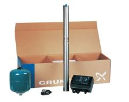 Čerpadlo GRUNDFOS - SQE 3-105 KOMPLET- Qmax 73 l/min, Hmax 140 m, 1,85 kW, 230V, 80 m kábe