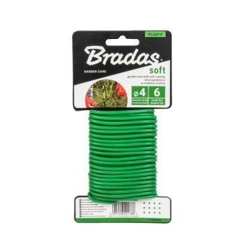 Drôt záhradnícky - SOFT - 4 mm x 6 m- BRADAS