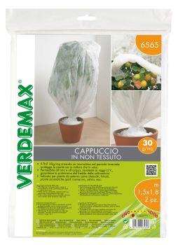 Ochranná textília - VERDEMAX - návlek na rastliny - 30g/m2, biela, 1,0 x 1,6 m - bal.2 ks