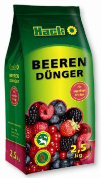 Hnojivo granulov. - HACK - drobné ovocie - 2,5 kg uzatváreteľné vrecko